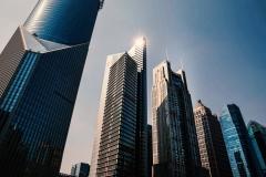 Wolkenkratzer in Pudong