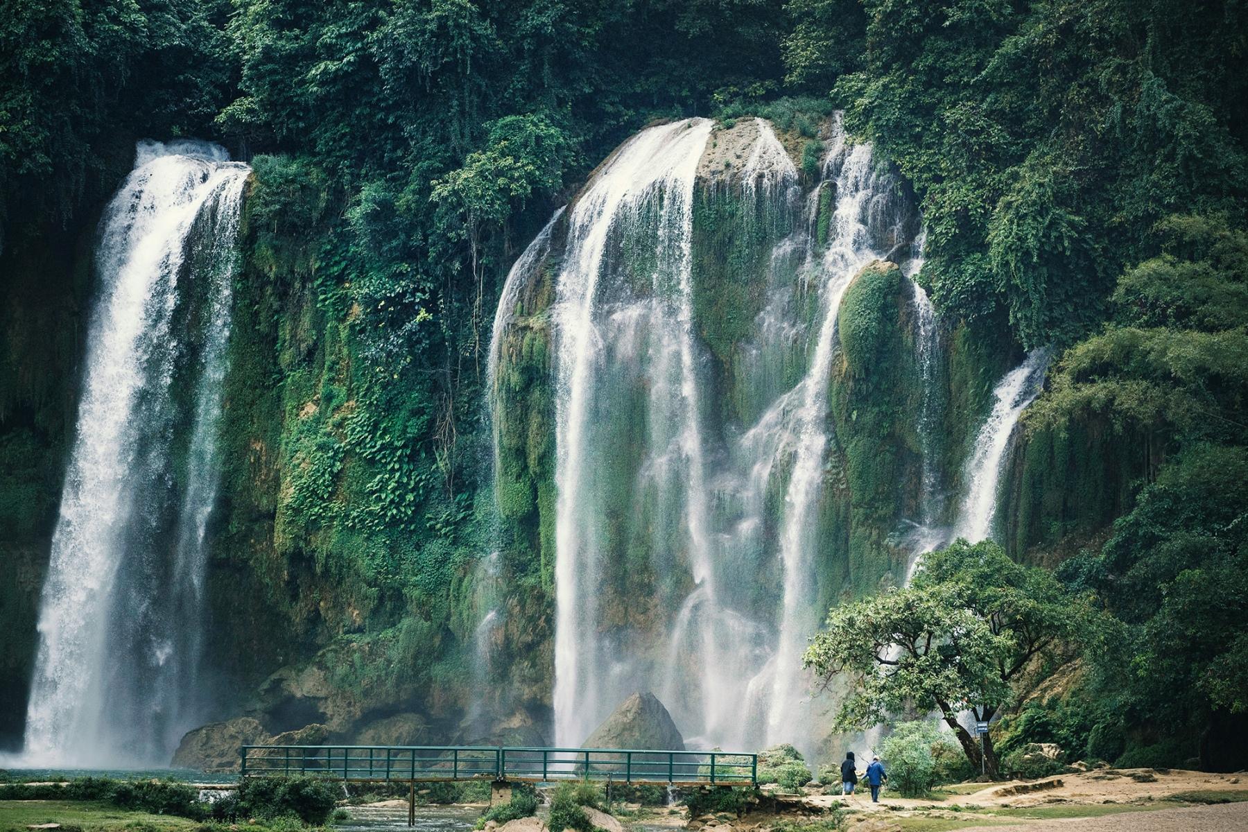Ban-Gioc-Detian Wasserfälle