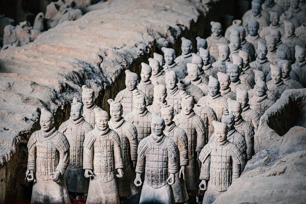 Provinz Shaanxi und Xi`an