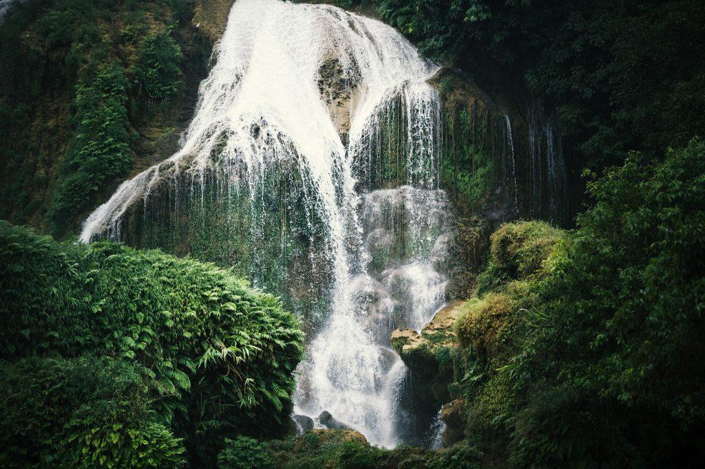 Waterfalls in China Guangxi