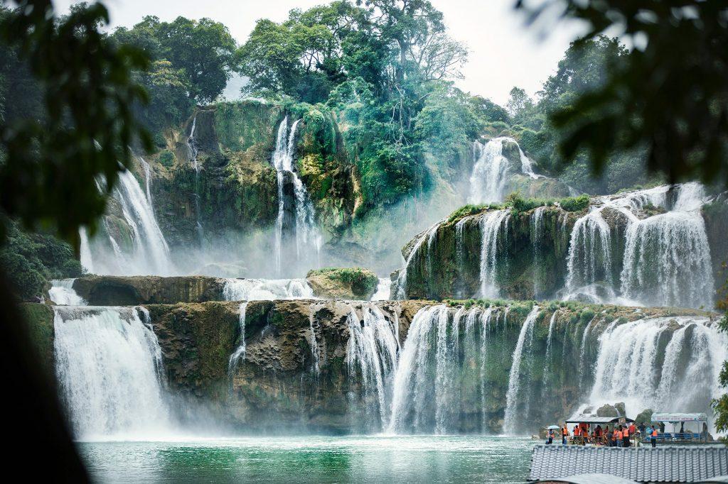 Detian Waterfalls
