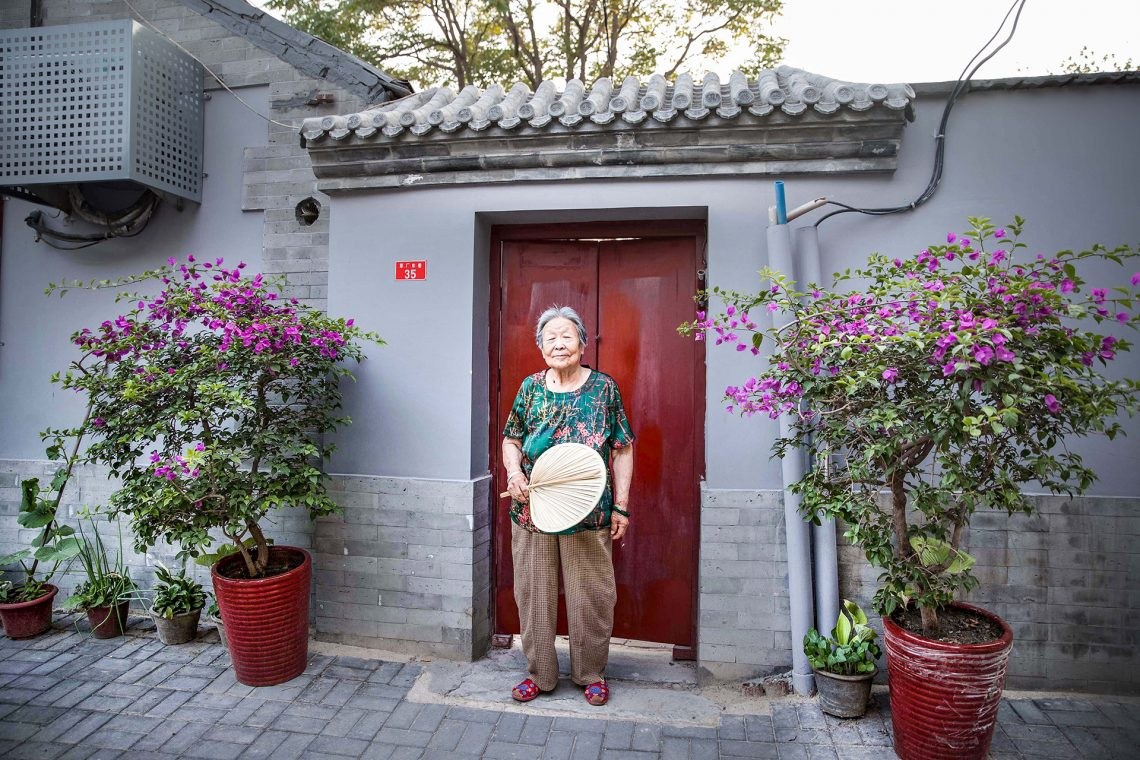 Hutong in Beijing