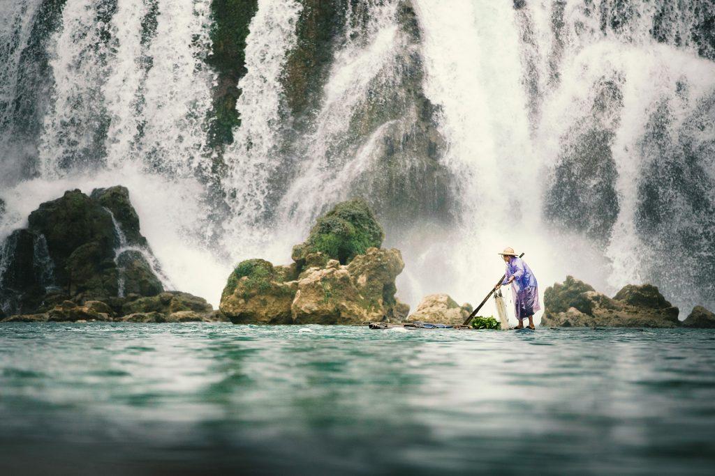 Ban-Gioc-Detian Waterfalls China/Vietnam Border.