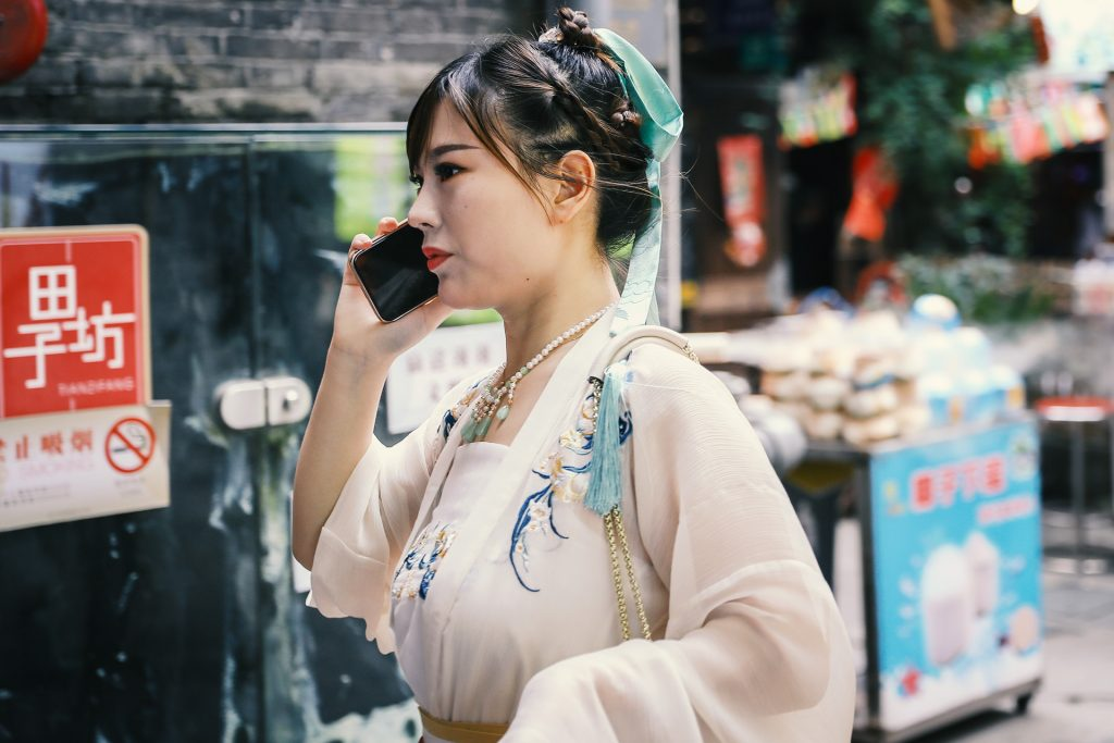 Tianzifang in Shanghai combines traditional chinese culture with the 21st century.